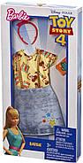 Одежда Barbie Универсальный полный наряд коллаборации История игрушек 4 Шериф Вуди FXK77, фото 3
