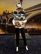 Набор одежды для Барби Игра с модой - Пальтишко, легинсы, шапка, шалик, фото 2
