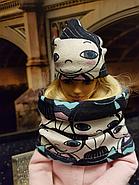 Набор одежды для Барби Игра с модой - Пальтишко, легинсы, шапка, шалик, фото 6