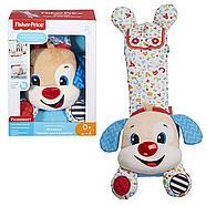 Развивающая игрушка Fisher Price Умный щенок для новорожденных на русском языке (FTF67), фото 3