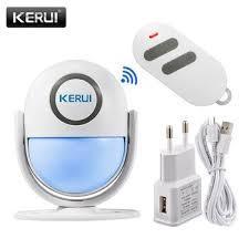 WI-FI сигнализация KERUI WP6.Сигнализация для Дома•управление через смартфон.Акция! (с пультом)