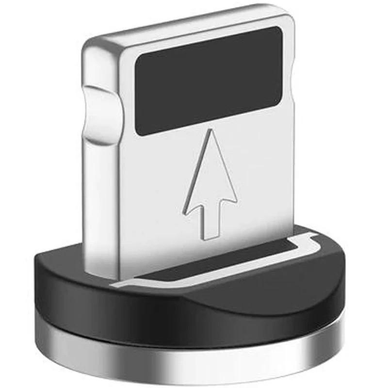 Наконечник Адаптер Коннектор магнитный для IPhone для магнитного кабеля Uslion Черный