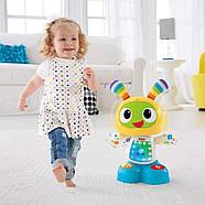 Інтерактивна іграшка Fisher Price Фішер Прайс Робот Бібо українською мовою FRV58, фото 8