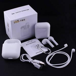 I9S TWS V5.0  - беспроводные Bluetooth наушники вкладыши в боксе (комлпект стандарт)