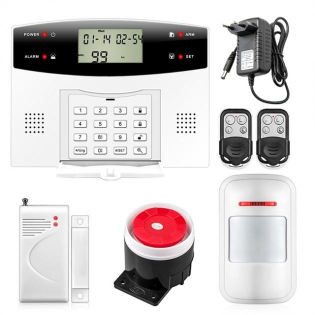 Полный комплект беспроводной GSM сигнализации PG500 / B2G Акция! (безантенный датчик движения)