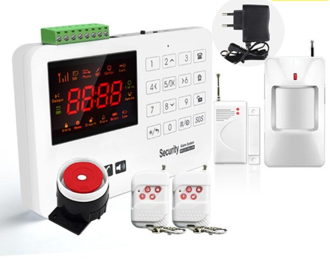 Комплект сигнализации GSM Alarm System GSM40A plus Белый (комлпект эконом)