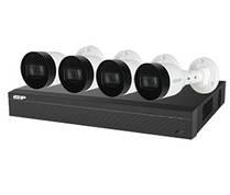 Комплект видеонаблюдения Dahua EZIP-KIT/NVR1B04HC-4P/E/4-B1B20 (2Мп)