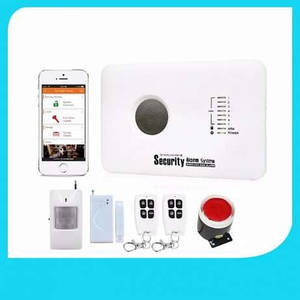 GSM охранная сигнализация Kerui G 10-C G10C для гаража, квартиры, дачи (комлпект економ)