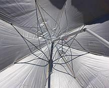 Пляжный зонт с наклоном 1,8 м Ромашка ( Зонт торговый 1,8 метра с наклоном и серебром ), фото 2