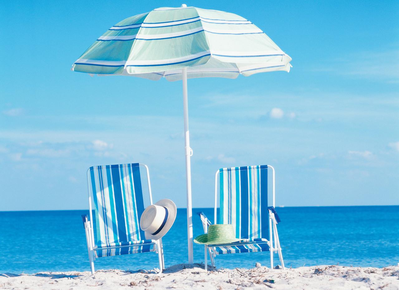 Пляжный зонт с наклоном 1,8 м Ромашка ( Зонт торговый 1,8 метра с наклоном и серебром )
