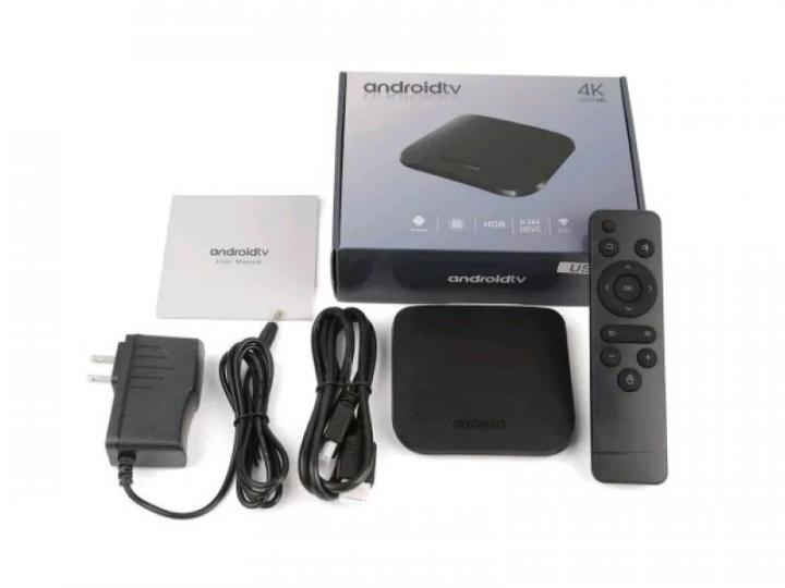 Smart TV Box. Смарт приставка M8s Plus W Android 7.1 Amlogic S905W  1G/8G (комлпект приставка, кабель, пульт)