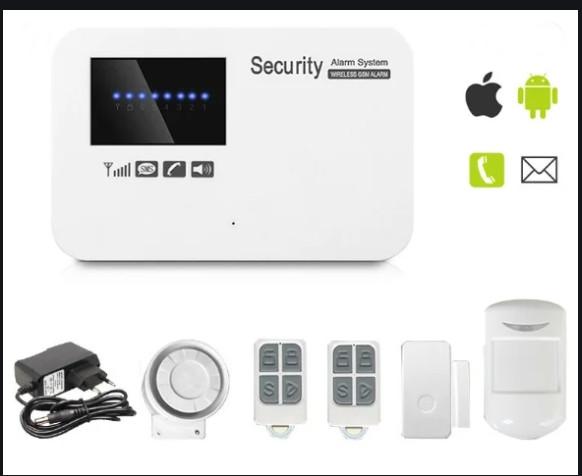 Сигнализация Security GSM 020 (комплект премиум)
