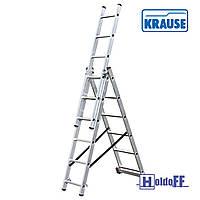 Трехсекционная лестница KRAUSE Corda 3x9, Польша