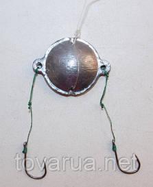 Макушатник круглий (оснащений гачками №10)