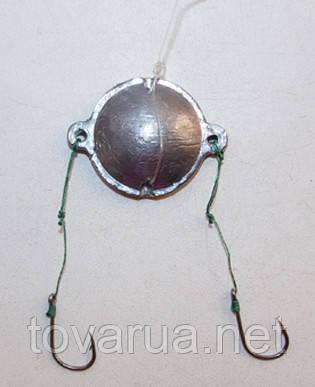 Макушатник круглый (оснащенный крючками №10)