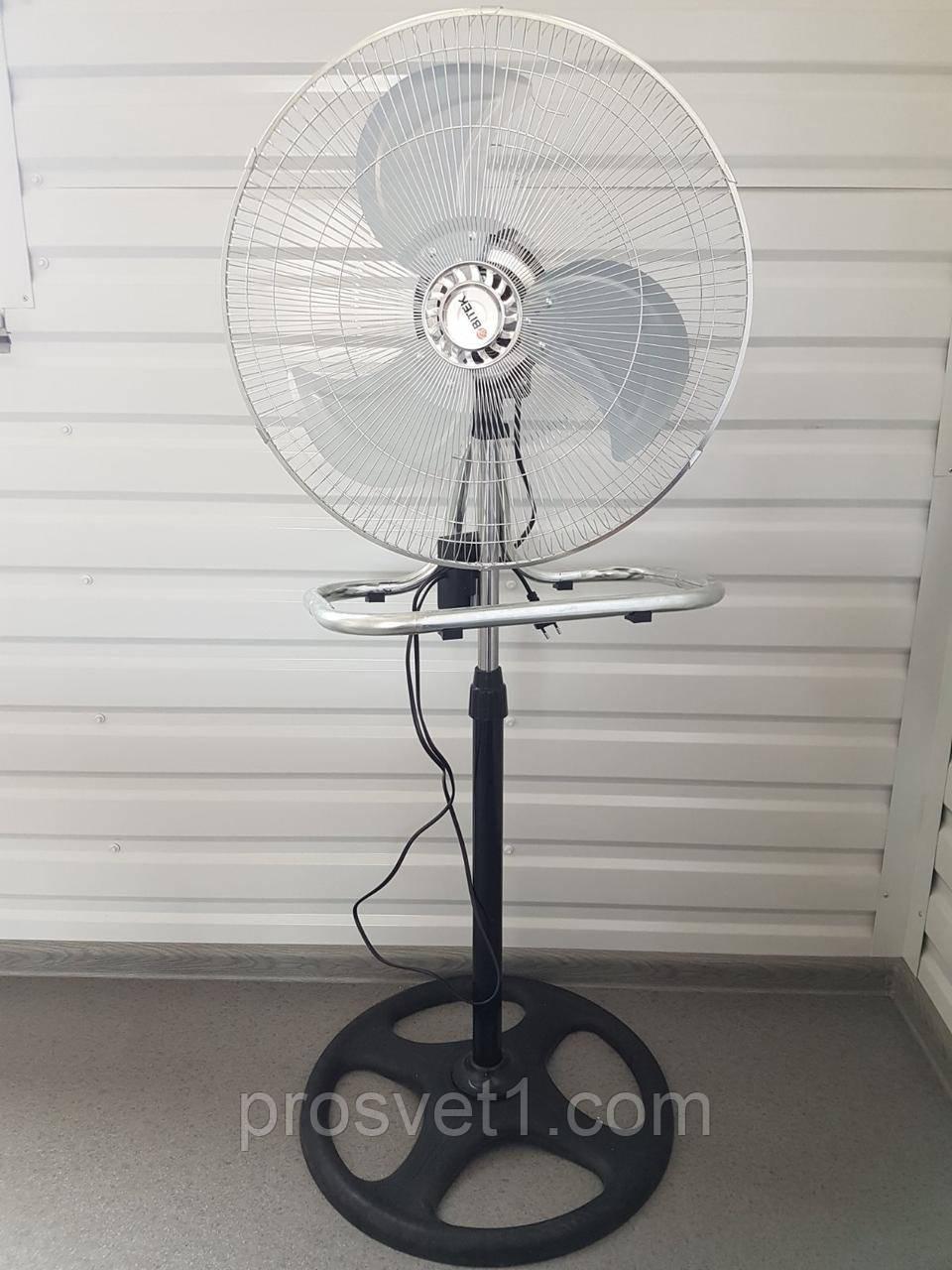 Вентилятор напольный мощный металлический BITEK 18 дюймов