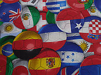 Тканина Вафельна Ширина 150 см., Футбол, фото 1