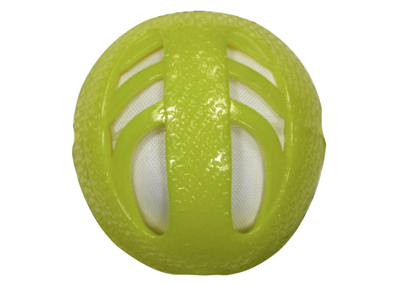 Игрушка для собак CROCI CATCHER. Мяч, резина, зеленый, 10 см
