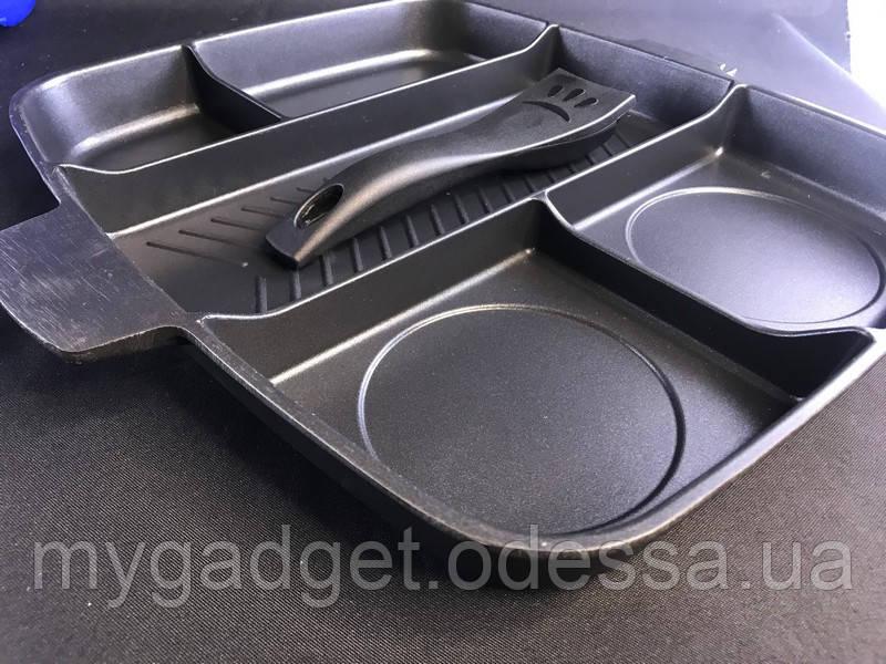 Многофункциональная сковорода гриль Magic Pan 5в1 32x28 см