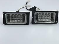 Противотуманки Ваз 2110, 2111, 2112, 2114, 2115. Диодные штатные противотуманные LED в бампер.