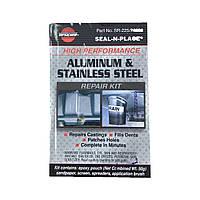 Высокотемпературный клей для алюминия. Двухкомпонентный клей для алюминиевых и стальных деталей VersaChem США