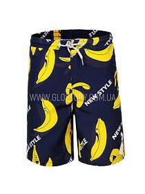 Пляжные шорты для мальчика с бананами