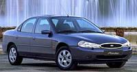 Дефлекторы на стекла Форд Мондео седан вставные / Ветровики FORD Mondeo 1996-2000 год