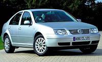 Дефлекторы на стекла Фольксваген Бора, Джетта вставные / Ветровики Volkswagen Bora 1998-2005 год