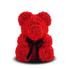 """Мишка из роз""""Teddy Bear"""" 25 см красный"""