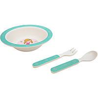 Набор детской посуды Fissman Модница 3 пр. F8349