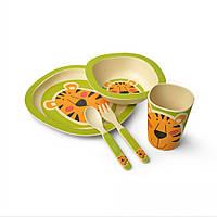 Набор детской посуды Fissman Тигрёнок 5 пр. F8355