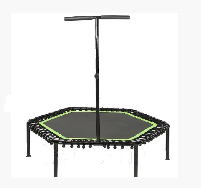 Батут фитнес FitToSky 127 см зеленый