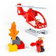 Конструктор Макси - Пожарная станция (81 элемент) (в коробке), фото 2
