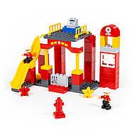 Конструктор Макси - Пожарная станция (81 элемент) (в коробке), фото 3
