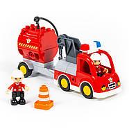 Конструктор Макси - Пожарная станция (81 элемент) (в коробке), фото 4