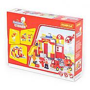 Конструктор Макси - Пожарная станция (81 элемент) (в коробке), фото 5