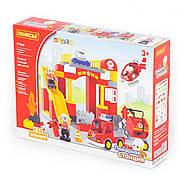 Конструктор Макси - Пожарная станция (81 элемент) (в коробке), фото 6