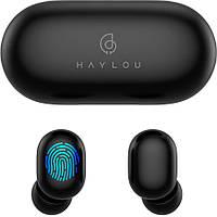 Беспроводные наушники Xiaomi Haylou GT1 Plus Black Оригинал