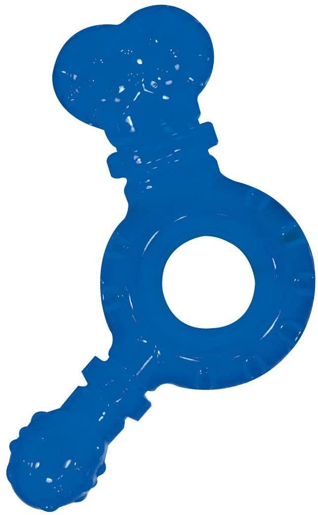 Игрушка для собак CROCI. Взрывной болт, синий, резина/силикон, 13*13*4 см