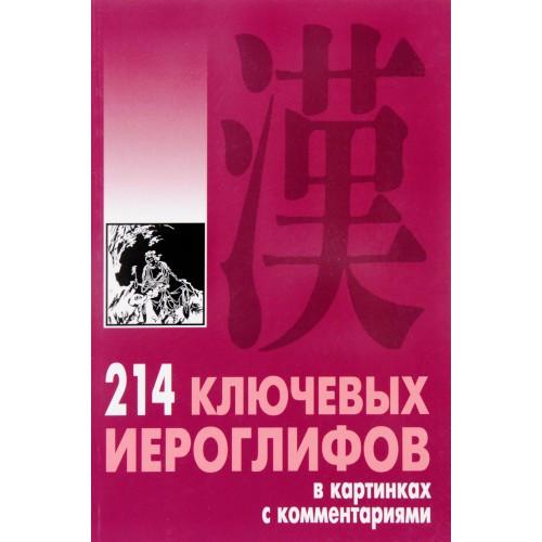 Книга о китайских иероглифах 214 ключевых иероглифов в картинках с комментариями А. П. Мыцик