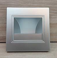 Світлодіодний світильник для підсвічування сходів, сходів Feron JD12 2W 4000K (білий світ) квадратний