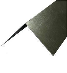 Покрівельний коник 0,25х0,25 х 2 м, оцинкований 055мм