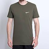 Чоловіча спортивна футболка Nike, чорного кольору, фото 3