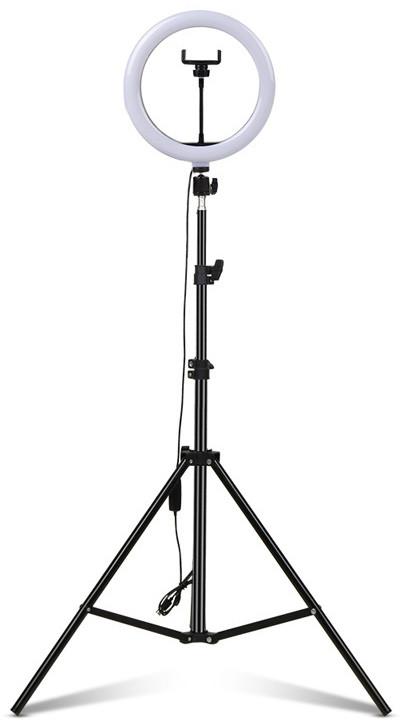 Комплект Ring Light M260 Кольцевая LED лампа 26 см + Штатив 160 см