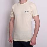 Чоловіча спортивна футболка Nike, чорного кольору, фото 4