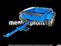 Прицеп к мотоблоку АМС-400-00 (1,4х1,1 м, без колес, жигулевская ступица)