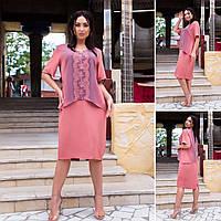 Платье женское 2424вл батал