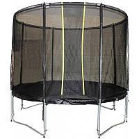 Батут KIDIGO VIP BLACK 304 см с защитной сеткой