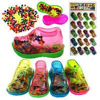 Гидрогель разноцветный в кроссовке 20 шт