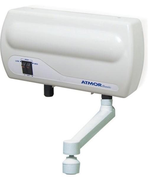 Проточний водонагрівач Atmor Basic 5 kw (Кран)